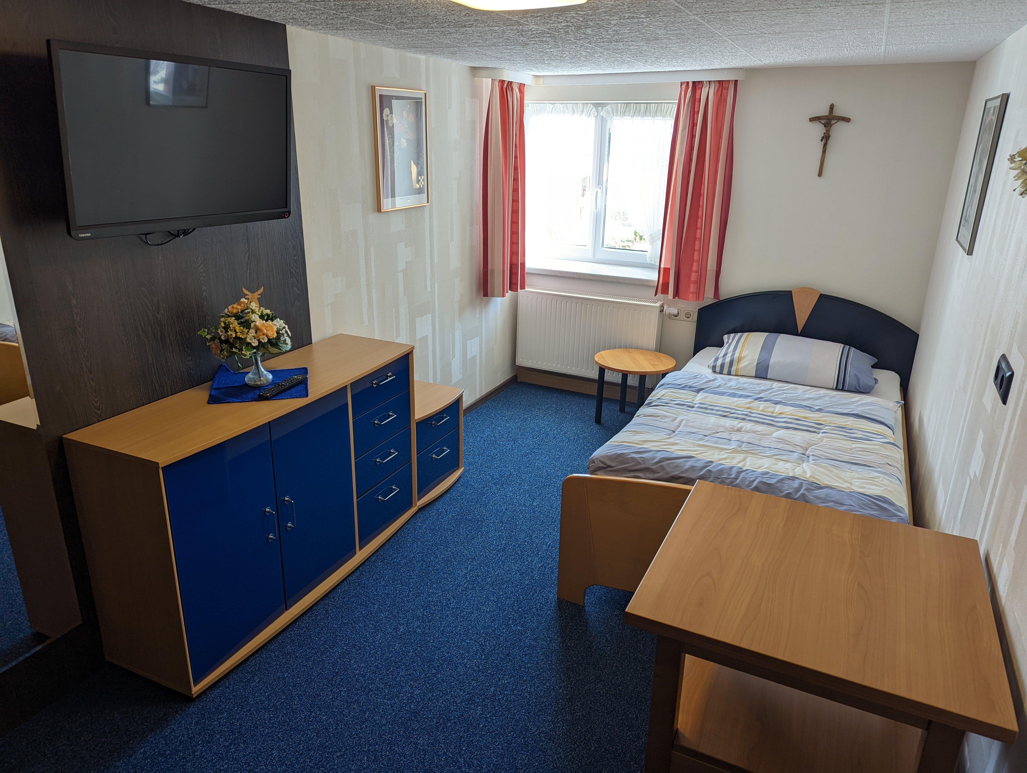 2.Schlafzimmer mit 2 Einzebelbetten